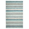 This item: Fairfield Blue Wool Rectangular: 8 Ft x 10 Ft Area Rug