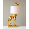 This item: Gold Giraffe Lamp