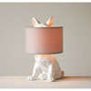 This item: Dog Shaped Lamp with Linen Shade