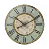 This item: Turquoise Green Round 29 In. Wall Clock