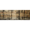 This item: Panoramic Forest 60 x 20 In. Painting Print on Natural Pine Wood