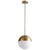 This item: Tali Aged Brass 11-Light LED Mini Pendant