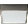This item: Pyxis Satin Nickel One-Light LED 120V/277V Flush Mount