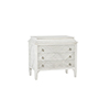 This item: Marilyn Porcelain White with Nickel Hardware 31-Inch Chest