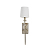 This item: Garnet Champagne Silver 5-Inch Sconce