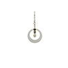 This item: Kira Antique Brass and Clear Acrylic 12-Inch Pendant