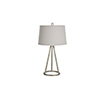 This item: Farrah Champagne Silver One-Light Table Lamp