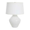 This item: Osborn Textured White and Antique Brass One-Light Table Lamp