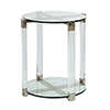 This item: Ginny Stainless Gold End Table