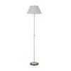 This item: Vanna White and Antique Brass One-Light Floor Lamp