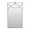 This item: Swan Textured Champagne Wall Mirror