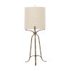 This item: Evie Ashwell Gold One-Light Table Lamp