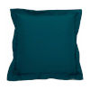 This item: Premier Reef and Snow 17 x 17 Inch Pillow with Linen Double Flange