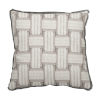 This item: Arcade Pewter 17 x 17 Inch Pillow with Flat Welt