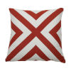 This item: Halo Cajun 20 x 20 Inch X-Stripe Pillow with Knife Edge