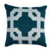 This item: Fortune Reef and Snow 20 x 20 Inch Pillow with Linen Welt