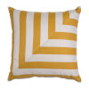 This item: Halo Mustard 20 x 20 Inch L-Stripe Pillow with Knife Edge