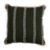 This item: Gingham Stripe Mallard 20 x 20 Inch Pillow with Flat Welt