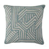 This item: Grooves Mist 20 x 20 Inch Pillow
