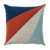 This item: Rays Sunset Multicolor 20 x 20 Inch Pillow with Knife Edge