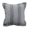 This item: Calmer Chambray and Stone 20 x 20 Inch Pillow with Double Flange