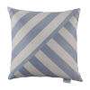 This item: Halo Chambray 20 x 20 Inch T-Stripe Pillow with Knife Edge