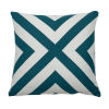 This item: Halo Reef 22 x 22 Inch X-Stripe Pillow with Knife Edge