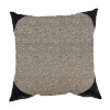 This item: Boucle Shimmer Pepper and Black 22 x 22 Inch Pillow with Corner Cap