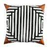 This item: Kubu Mallard and Snow 22 x 22 Inch Pillow with Corner Cap