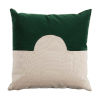 This item: Eclipse Mallard and Almond 22 x 22 Inch Pillow with Knife Edge