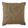 This item: Grooves Mustard 22 x 22 Inch Pillow