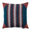 This item: Squiggle Cajun 22 x 22 Inch Pillow with Corner Cap