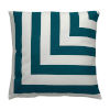 This item: Halo Reef 24 x 24 Inch L-Stripe Pillow with Knife Edge
