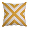 This item: Halo Mustard 24 x 24 Inch X-Stripe Pillow with Knife Edge