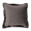 This item: Mushroom 24 x 24 Inch Pillow with Cast Pebble Double Flange