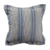 This item: Calmer Chambray and Stone 24 x 24 Inch Pillow with Double Flange