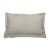 This item: Verona Almond 14 x 24 Inch Pillow with Double Flange