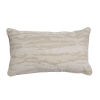 This item: Birch Snow 14 x 24 Inch Pillow with Mohave Welt