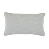 This item: Cheetah Mist Velvet 14 x 24 Inch Pillow with Linen Welt