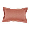This item: Terra Cotta 14 x 24 Inch Pillow with Linen Double Flange