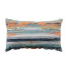This item: Cray Cray Mist and Chambray Velvet 14 x 24 Inch Pillow with Knife Edge