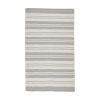 This item: Vintage Stripe Pewter Rectangular 5 Ft. x 8 Ft.  Rug