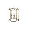 This item: Stella Antique Gold Four-Light Pendant