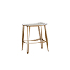 This item: Pierce Antique Gold Silver and Clear Acrylic Counter Stool