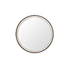This item: Fritz White Seagrass and Antique Brass 36-Inch Mirror