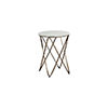 This item: Phoenix Vintage Gold and Feather Green Marble 18-Inch Side Table