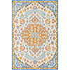 This item: Antigua Light Blue Rectangular: 8 Ft. x 10 Ft. Rug