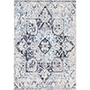 This item: Apricity Sky Blue and Ivory Rectangular: 5 Ft. 3 In. x 7 Ft. 6 In. Rug