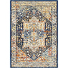 This item: Ararat Navy and Yellow Rectangular: 7 Ft. 10 In. x 10 Ft. 3 In. Rug