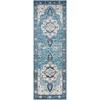 This item: Aura silk Blue Runner: 2 Ft. 7 In. x 7 Ft. 6 In. Rug